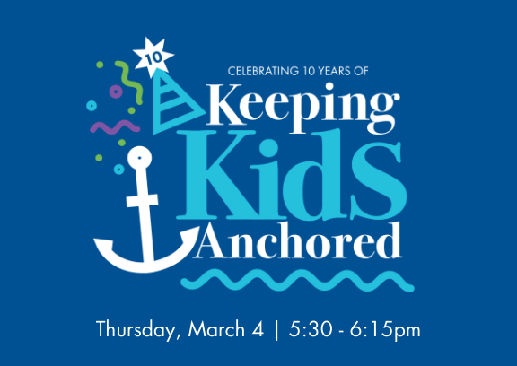 Keeping Kids Anchored Home Page Poster